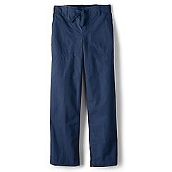 Lands' End - Blue boys' iron knee beach trousers