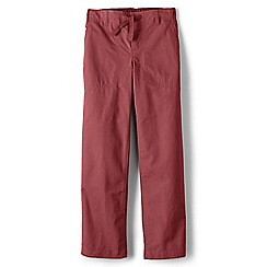 Lands' End - Red boys' iron knee beach trousers