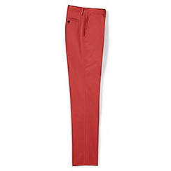 Lands' End - Orange traditional fit lighthouse chinos