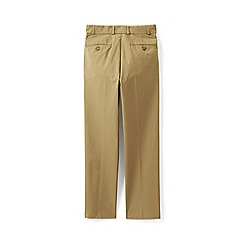 Lands' End - Brown boys' twill trousers