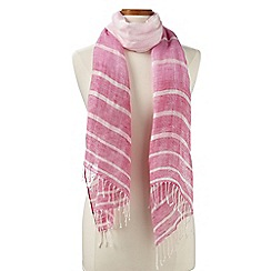 Lands' End - Pink ombre scarf