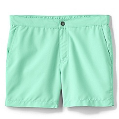Lands' End - Cream monterey swim shorts