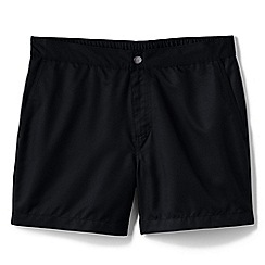 Lands' End - Black monterey swim shorts