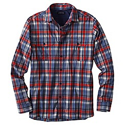 Lands' End - Multi men's patterned upf30 travel shirt