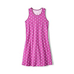 Lands' End - Pink girls' racerback dress