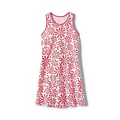 Lands' End - Girls' Orange racerback dress