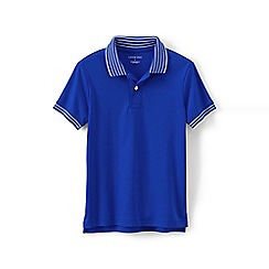 Lands' End - Blue boys' supima polo