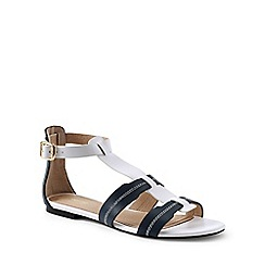 Lands' End - White gladiator sandals