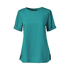 Lands' End - Green regular soft tee