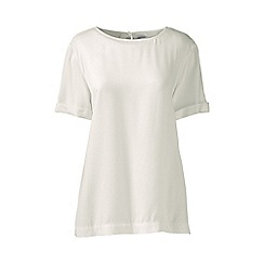 Lands' End - Cream regular soft tee
