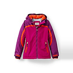 Lands' End - Pink girls' stormer jacket