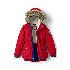 Lands' End - Boys' red expedition parka