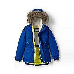 Lands' End - Boys' blue expedition parka