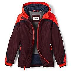 Lands' End - Boys' red stormer jacket