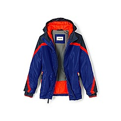 Lands' End - Boys' blue stormer jacket