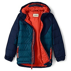 Lands' End - Blue younger boys' down parka