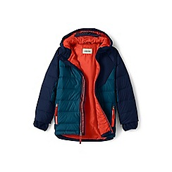 Lands' End - Blue boys' down parka