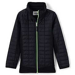Lands' End - Black primaloft hybrid jacket