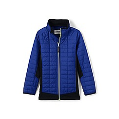 Lands' End - Blue primaloft hybrid jacket