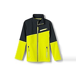 Lands' End - Yellow softshell jacket