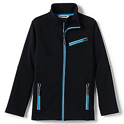 Lands' End - Black softshell jacket