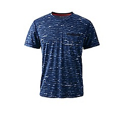 Lands' End - Blue sport tech tee