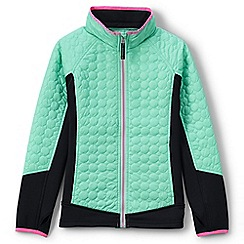 Lands' End - Green primaloft hybrid jacket
