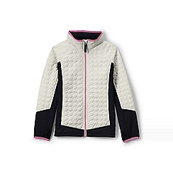 Lands' End - Cream primaloft hybrid jacket