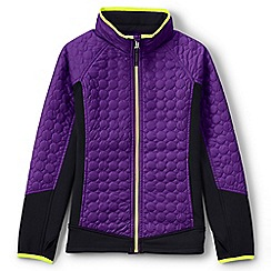 Lands' End - Purple primaloft hybrid jacket