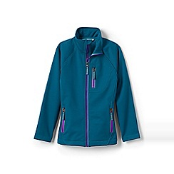 Lands' End - Blue softshell jacket