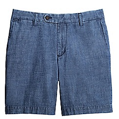Lands' End - Blue chambray shorts