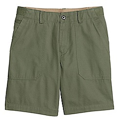 Lands' End - Green utility shorts