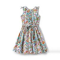 Lands' End - Multi girls' tie shoulder twirl dress
