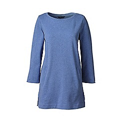 Lands' End - Purple plus three quarter sleeve tunic