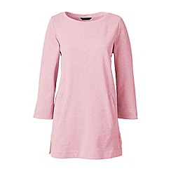 Lands' End - Pink plus three quarter sleeve tunic