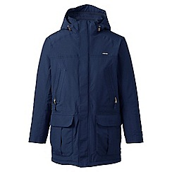 Lands' End - Blue regular insulated squall parka