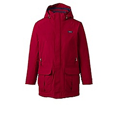 Lands' End - Red regular insulated squall parka