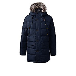 Lands' End - Blue regular down 600 fill parka
