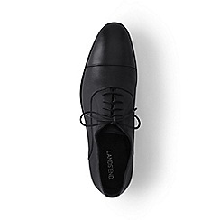 Lands' End - Black cap toe shoes