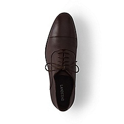 Lands' End - Brown cap toe shoes