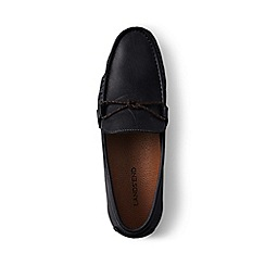 Lands' End - Black driving shoes