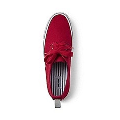 Lands' End - Red lace-up trainers