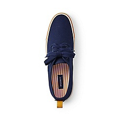 Lands' End - Blue lace-up trainers