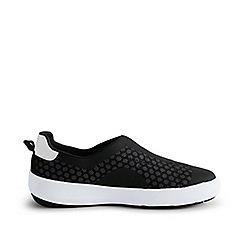 Lands' End - Black slip-on water shoes