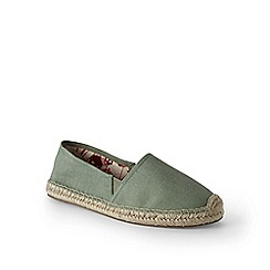 Lands' End - Green espadrilles