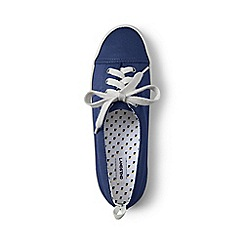 Lands' End - Blue lace-up sneakers