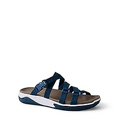 Lands' End - Blue strappy water sandals