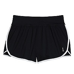 Lands' End - Black leisure sport running shorts