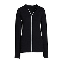 Lands' End - Black leisure sport speed jacket