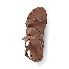 Lands' End - Beige bow sandals